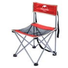 NatureHike NH16J001-J Outdoor Portable Folding Chair - Red