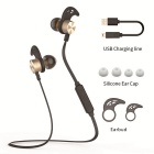 plextone BX325 bluetooth headset magnetisk adsorption in-ear hörlurar