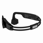 Bluetooth Bone Conduction Open-ear Stereo Neckband Headphones - Black