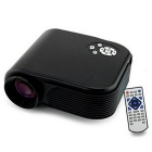 ourspop portátil 12W mini proyector LED w / HDMI / TV / VGA / SD / USB