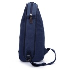 LOCAL LION 1321 Classic Fashion Canvas Chest Bag - Blue (6.5L)