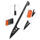 FURA Stainless Steel Survival Scaling Knife Kit - Black
