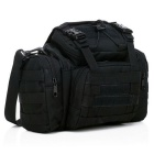 16L Outdoor Sports Tactical Multipurpose Waist Bag - Black