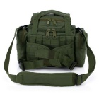 Outdoor Sports Tactical Multipurpose Waist Bag - Army Green (16L)