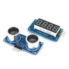 OPEN-SMART Ultrasonic Sensor Module + 4-Digit Display for Arduino