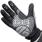NUCKILY Touch Screen Outdoor Riding Full Finger Gloves - Grey (XL)