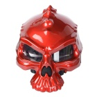 CARKING Dual Use Novelty Retro Casque Motorbike Half Face Helmet - Red