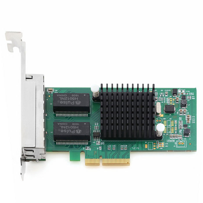 I350-T4 PCI Express to 4 Port Gigabit Ethernet Networking Card
