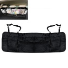 ZIQIAO Car Truck Organizer Large Capacity Storage Bag - Black