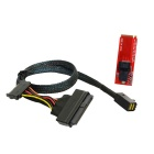 CY SF-093 / SF-094 U.2 U2 kit SFF-8639 NVME PCIe SSD-adapter och kabel