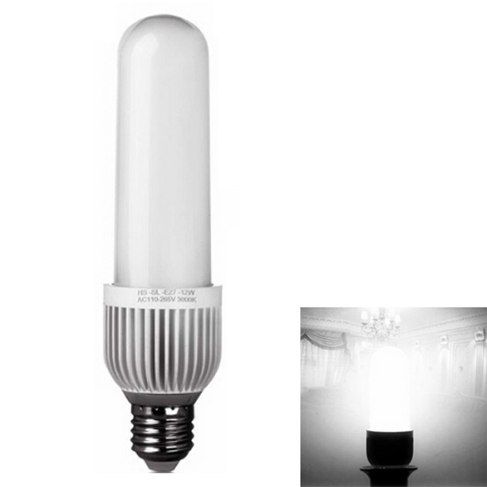 E27 12W LED Corn Lamp Cold White 64-SMD 4014 (AC 110-265V)