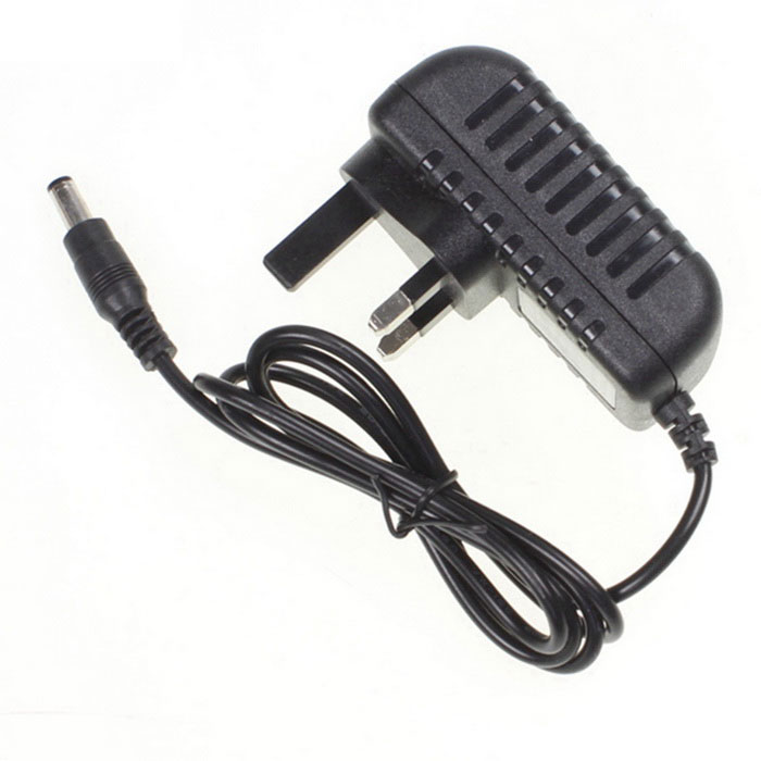 UK Plug 12V 1A 1000mA LED Strip Light Power Supply Adapter DC 5.5*2.1
