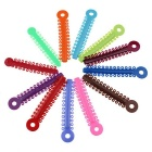 40PCS Orthodontic Elastic Rubber Band Ligation Ties - Multicolor