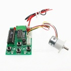 Micro Stepping Gear Motor With Drive 15BY-DC5.0V-1:50 - White + Green