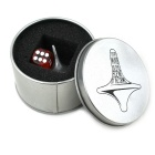 Inception Stainless Steel Spinning Top Totem with Plastic Dice
