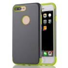 "Protective PC + TPU Back Case for IPHONE 7 Plus 5.5"" - Grey + Green"