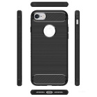 Protective Plastic TPU + PC Back Case for IPHONE 7 - Black