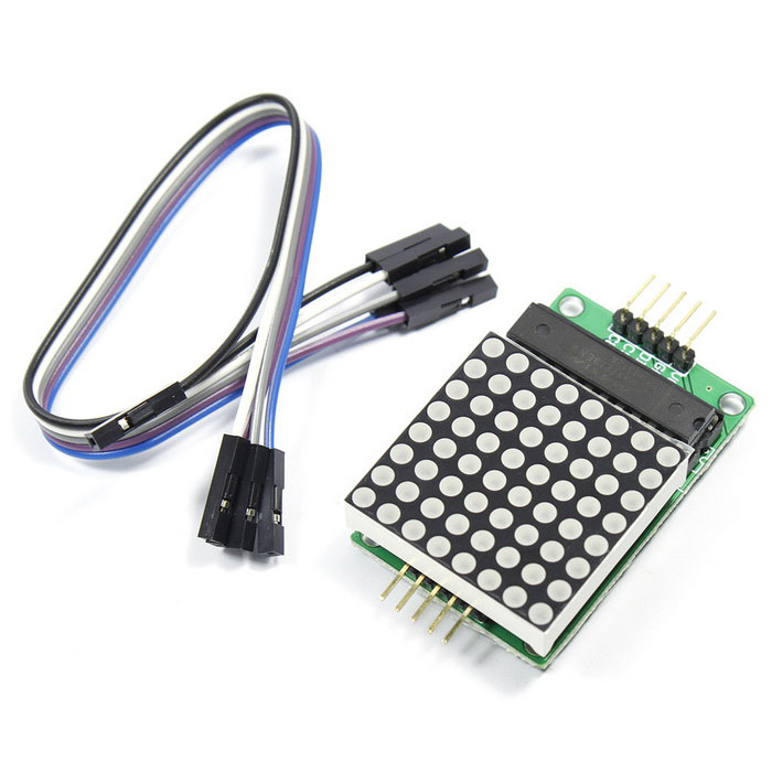 DIY MAX7219 8*8 Dot Matrix Module for Arduino