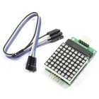 DIY MAX7219 8*8 Dot Matrix Module Microcontroller Module for Arduino