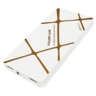 2USB ShakeIII Super Slim 20000mAh External Battery for Mobiles - White