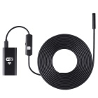 8mm 2.0MP 6-LED Wireless Wi-Fi Endoscope (5M)