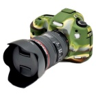 Korea Style Silicone Camera Case for Canon 5DIII 5D3 5DS - Green