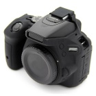 Korea Style Silicone Camera Case for Nikon D5500 DSLR Camera - Black