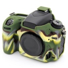 Korea Style Silicone Camera Case for Nikon D750 DSLR Camera - Green