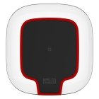 Mindzo W07 Touching Panel Wireless Charger - Transparent + Red + Black