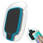 Mindzo W07-B Touch Panel Wireless Charger - Transparent + Blue + Black
