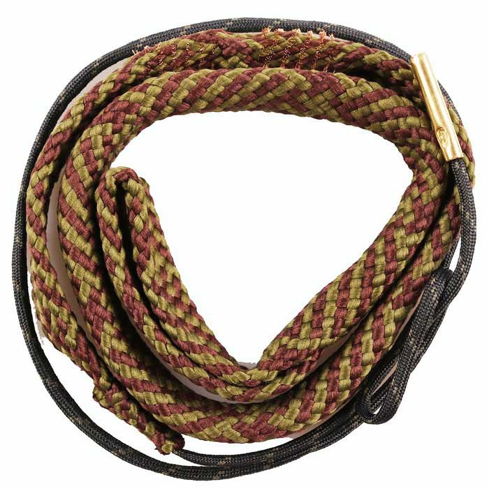 Snake Style Rifle Bore Cleaner for .44 Cal .45 Cal Caliber Gun - Brown