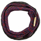Snake Style Rifle Bore Cleaner for .416 Cal .44 45-70 Cal - Deep Red