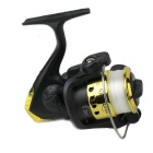 Bearing Number 3 Electroplating Fishing Reel - Black + Golden