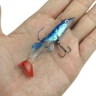 Lures Lead Soft Fish Bionic Bait - White + Light Blue