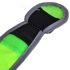 Multifuncitonal Outdoor Reflective Lighting Belt - Fluorescent Green