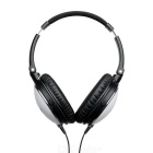 ANC-J1 Wired Noise Reduction Music Headband Headset w/ Mic. - White