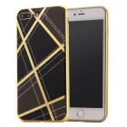 TPU Protective Back Case Cover for IPHONE 7 Plus - Black + Golden