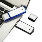 Kelima 8GB USB Flash Drive / Recorder - Black + Silver