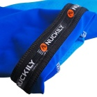 NUCKILY Sunproof Silk Seamless Cycling Arm Sleeves - Blue (Pair / S)