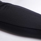NUCKILY Summer Sunproof Silk Seamless Cycling Arm Sleeves - Black