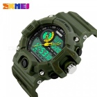 SKMEI 1029 Men's Quartz Digital Dual Time Sports Watch - Army Green