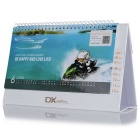 2017 Desk Calendar Made by DX.com