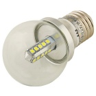Youoklight E26 / E27 4W 20-SMD 2835 kalte weiße LED-Birnenlampen (2PCS)