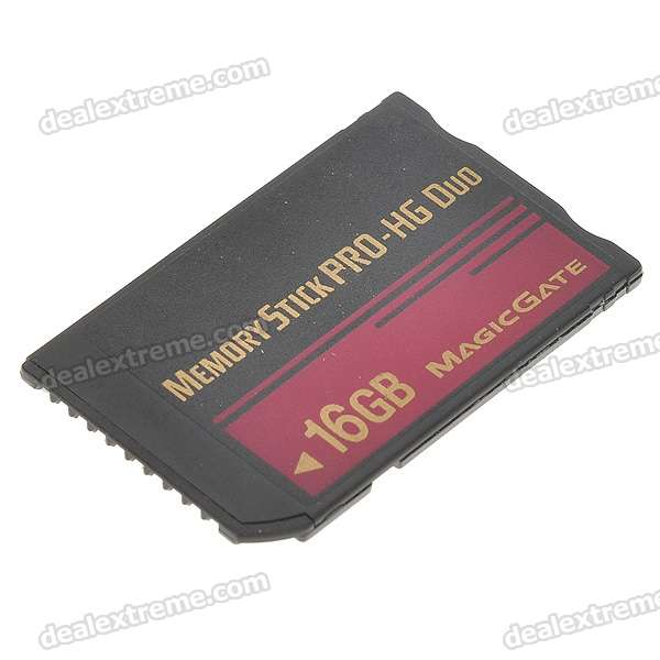 Designer's Ultra High-Speed Memory Stick MS Pro-HG Duo Memory Card (16GB)