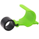 CS-474A4 Motorcycle / Bicycle Parking Brake Accessory - Green