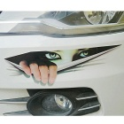 3D Simulation Peeping Eye Motorized Vehicle Modified Car Sticker