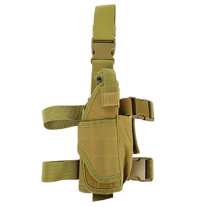 CTSmart Qutdoor Multifunctional Leg Bag Tactical Pouch with Waist Belt