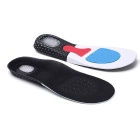 Soft Bottom Cushioning Sport Insoles - Black + Multicolor