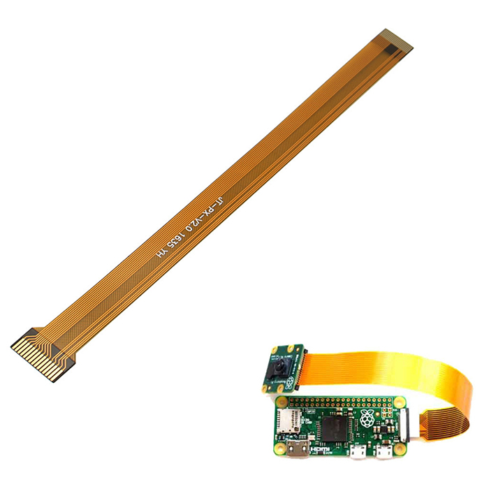 Specific Camera Data Cable for Raspberry Pi Zero v1.3 - BrownRaspberry Pi<br>Form  ColorNaples Yellow + Light BrownModelN/AQuantity1 DX.PCM.Model.AttributeModel.UnitMaterialPVCEnglish Manual / SpecNoPacking List1 * Raspberry Pi Zero v1.3 Camera Cable<br>
