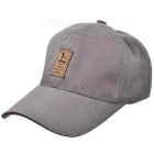 Unisex Outdoor Casual Cotton Sports Baseball Cap - Grey